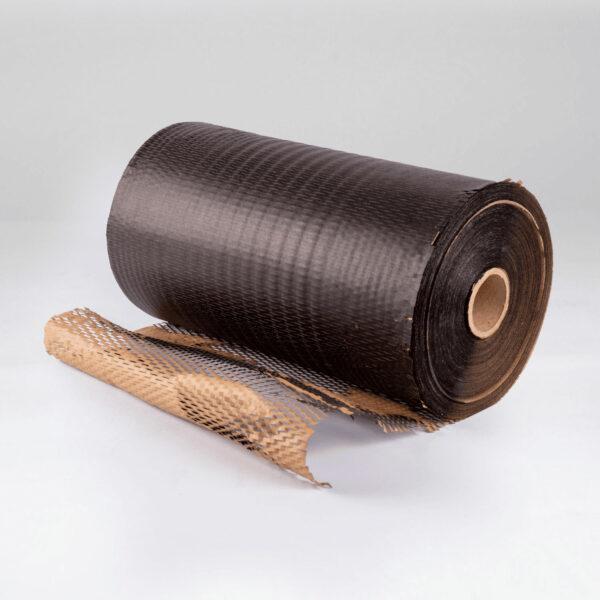 Black Honeycomb Cushioning Wrap Paper