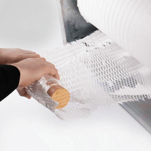 White Honeycomb Cushioning Wrap Paper