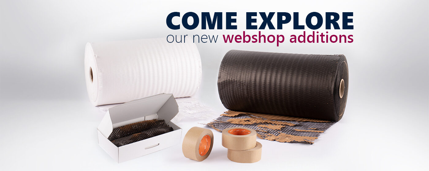 Honeycomb Cushioning Wrap Paper and Paper Packing Tape