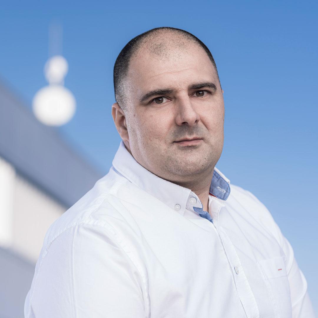 Bojan Martić Maintenance Manager