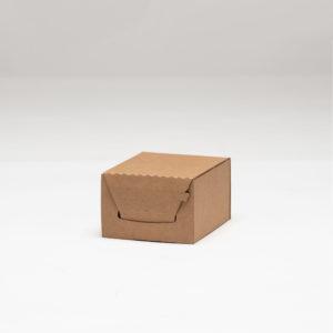 self folding brown ecommerce mailing box