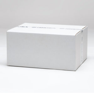 Shipping eco white corrugated box 400 x 300 x 200