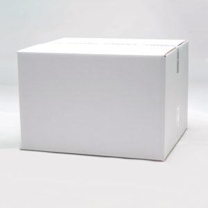 Shipping eco white corrugated box 510 x 410 x 400