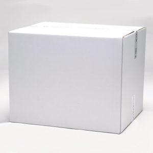 Shipping eco white corrugated box 600 x 510 x 410